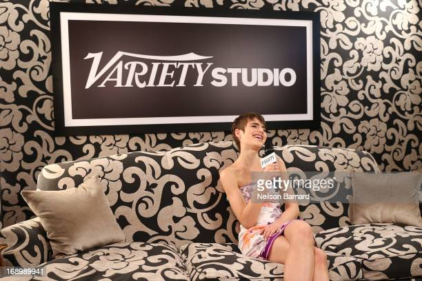 Actress Sami Gayle attends the Variety Studio at Chivas House on May 18 2013 in Cannes France