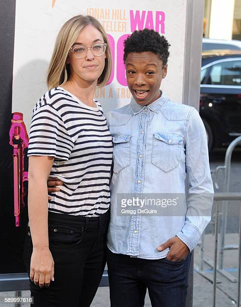 Actress Samira Wiley arrives at the premiere of Warner Bros Pictures' 'War Dogs' at TCL Chinese Theatre on August 15 2016 in Hollywood California
