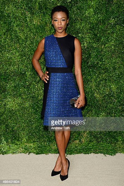 Actress Samira Wiley attends the 12th annual CFDA/Vogue Fashion Fund Awards at Spring Studios on November 2 2015 in New York City
