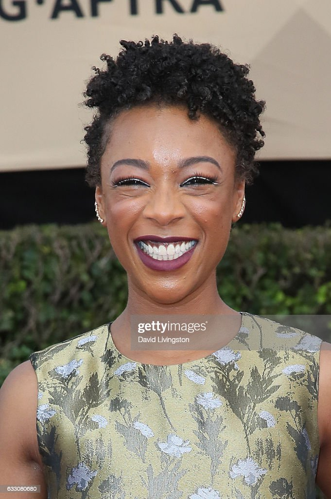 Actress Samira Wiley attends the 23rd Annual Screen Actors Guild Awards at The Shrine Expo Hall on January 29, 2017 in Los Angeles, California.