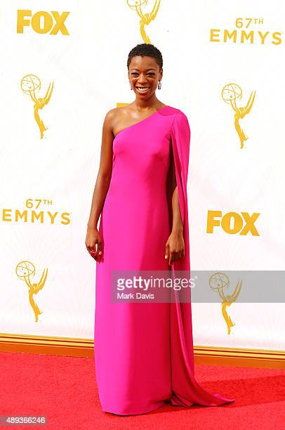 Actress Samira Wiley attends the 67th Annual Primetime Emmy Awards at Microsoft Theater on September 20 2015 in Los Angeles California