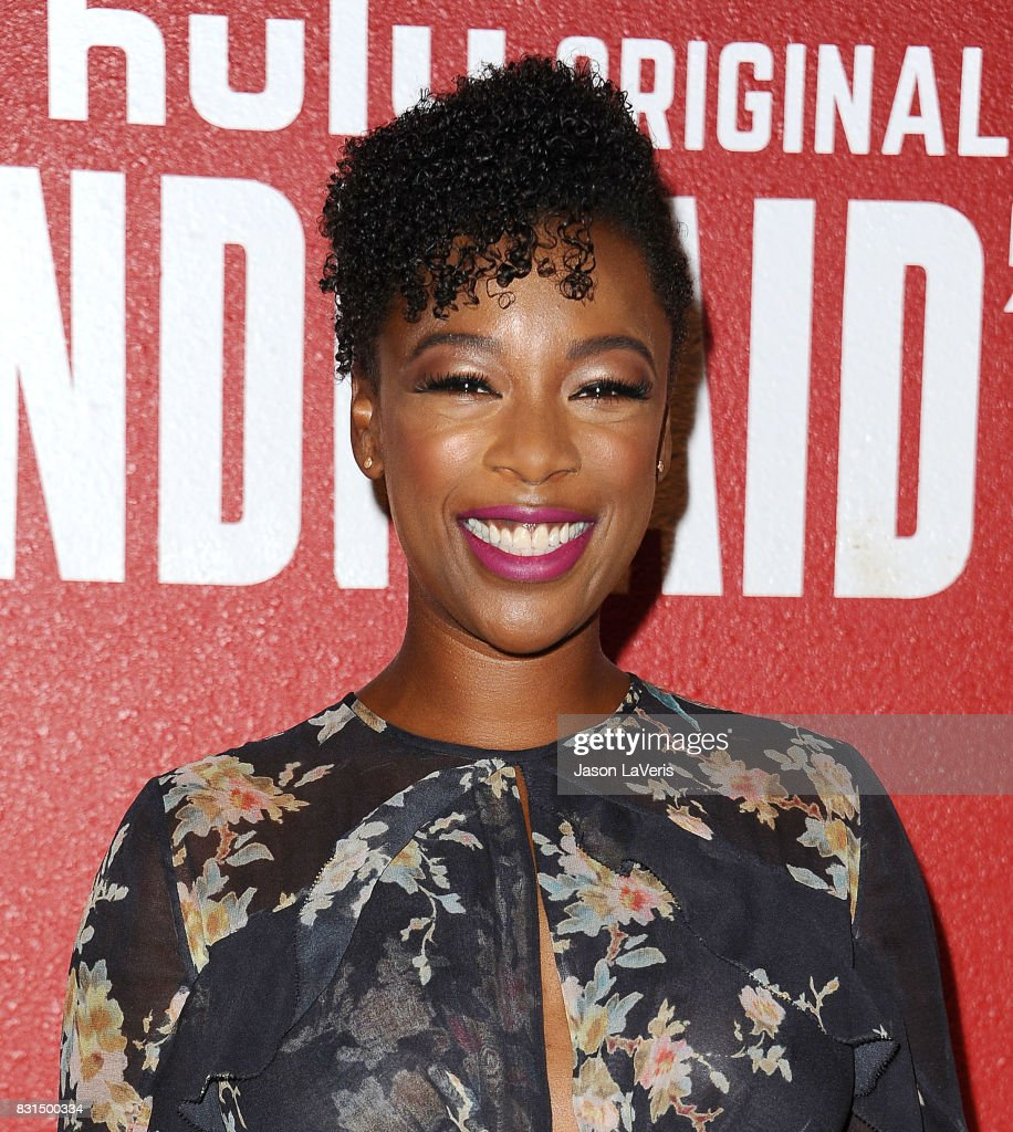 Actress Samira Wiley attends 'The Handmaid's Tale' FYC event at DGA Theater on August 14, 2017 in Los Angeles, California.