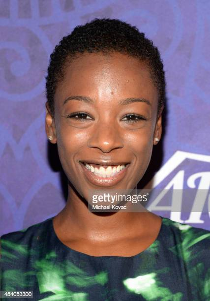 Actress Samira Wiley attends Variety and Women in Film Emmy Nominee Celebration powered by Samsung Galaxy on August 23 2014 in West Hollywood...