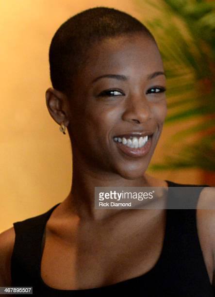 Actress Samira Wiley of Orange Is the New Black attends SCAD Presents aTVfest at the Four Seasons Hotel Atlanta on February 8 2014 in Atlanta Georgia