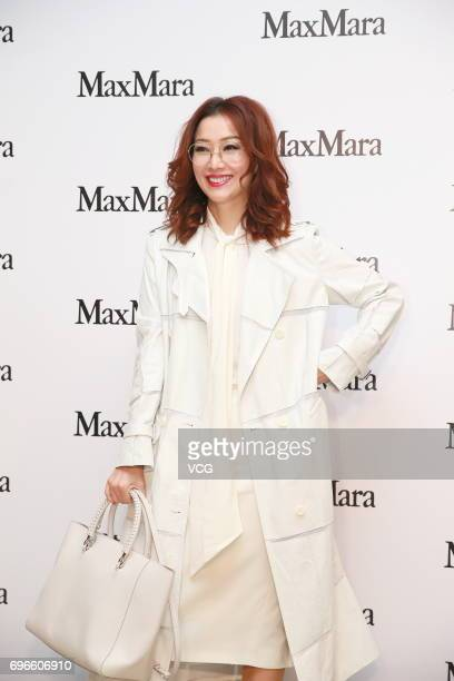 Actress Sammi Cheng attends Max Mara store opening ceremony on June 15 2017 in Hong Kong Hong Kong