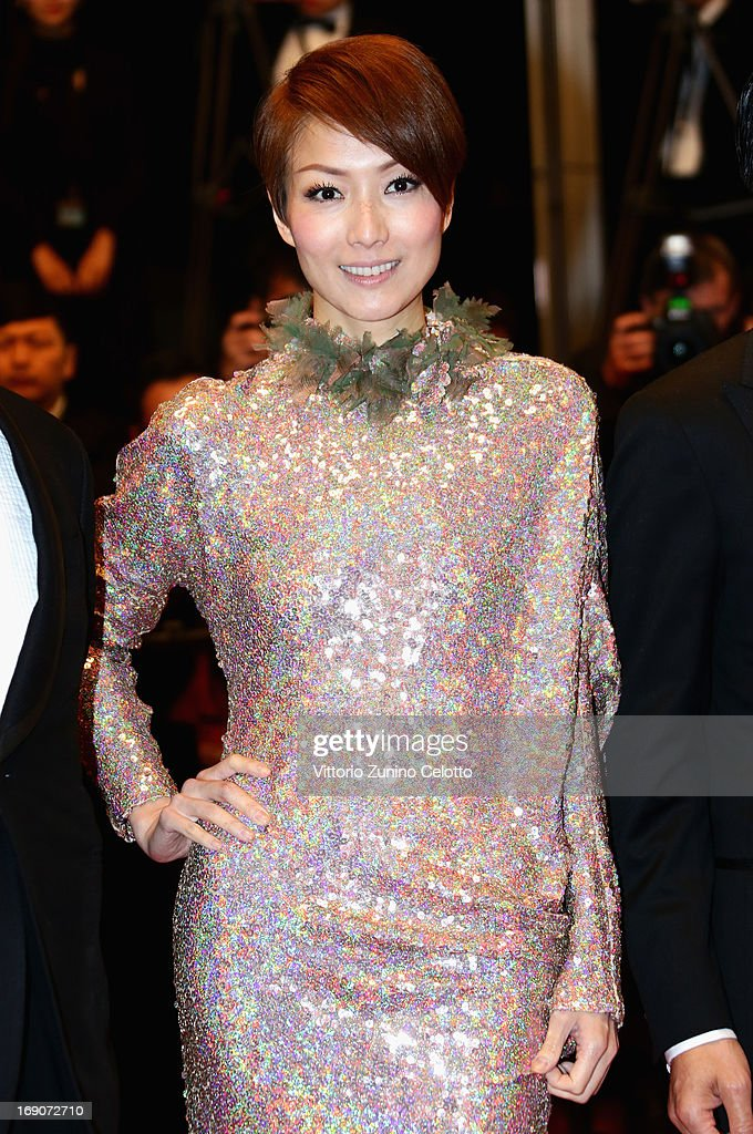 Actress Sammi Cheng attends the 'Blind Detective' Premiere during the 66th Annual Cannes Film Festival at the Palais des Festivals on May 19, 2013 in Cannes, France.