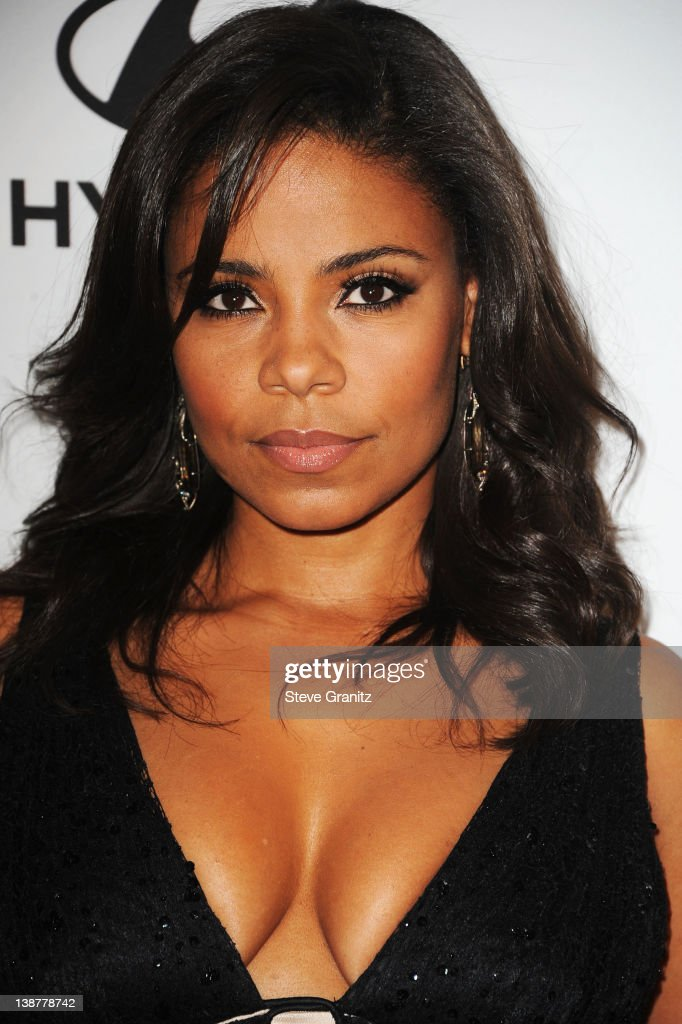 Actress Sanaa Lathan arrives at Clive Davis and The Recording Academy's 2012 Pre-GRAMMY Gala and Salute to Industry Icons Honoring Richard Branson at The Beverly Hilton hotel on February 11, 2012 in Beverly Hills, California.