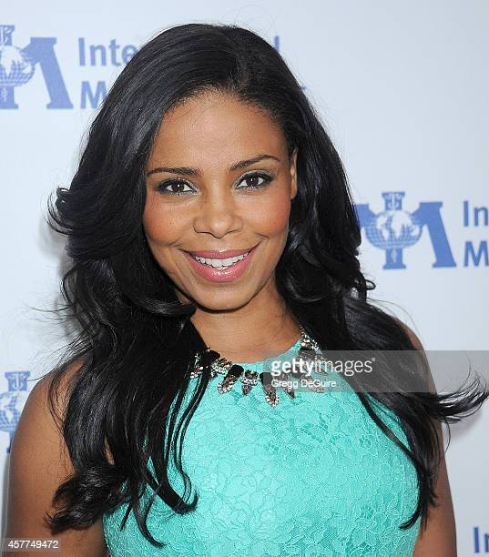 Actress Sanaa Lathan arrives at the International Medical Corps' Annual Awards dinner ceremony at the Beverly Wilshire Four Seasons Hotel on October...