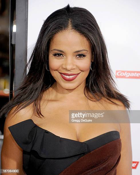 Actress Sanaa Lathan arrives at the Los Angeles premiere of 'The Best Man Holiday' at TCL Chinese Theatre on November 5 2013 in Hollywood California