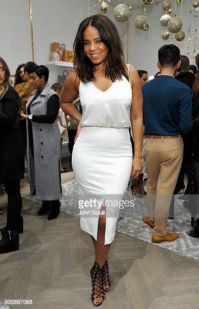 Actress Sanaa Lathan attends the opening of Kimora Lee Simmons' Beverly Hills boutique with W Magazine on December 10 2015 in Beverly Hills California