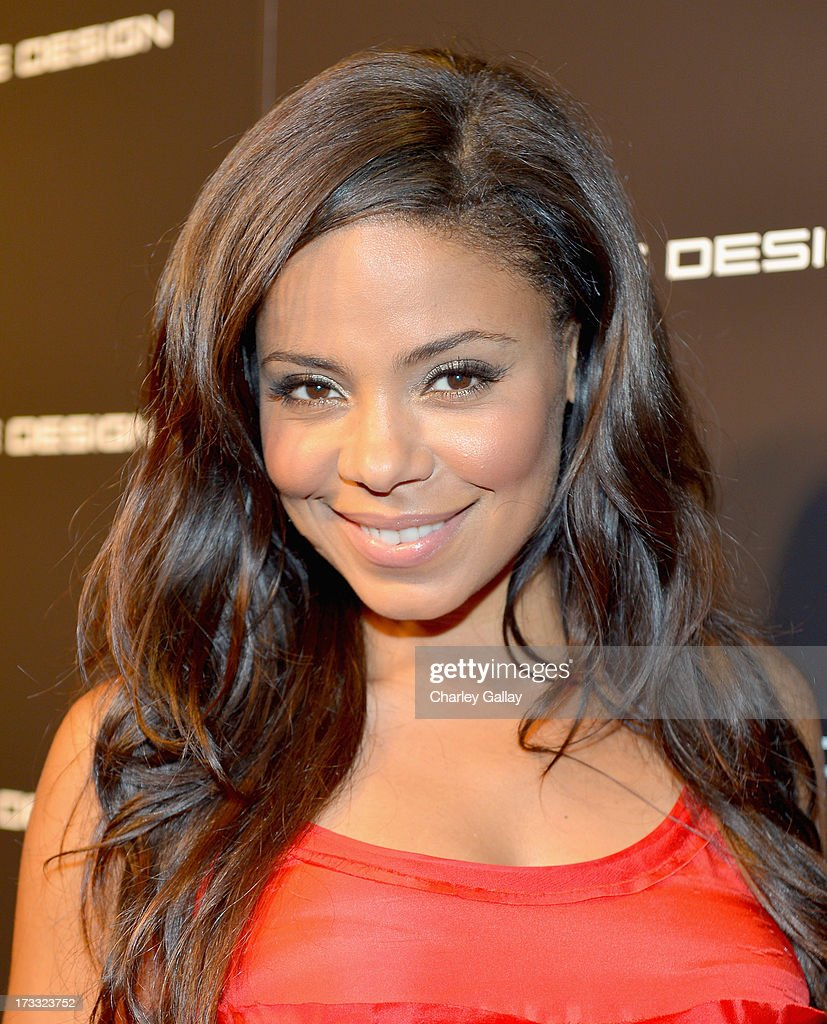 Actress Sanaa Lathan attends the Porsche Design and Vogue re-opening event at Porsche Design Beverly Hills on July 11, 2013 in Beverly Hills, California.