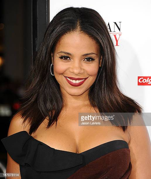 Actress Sanaa Lathan attends the premiere of 'The Best Man Holiday' at TCL Chinese Theatre on November 5 2013 in Hollywood California