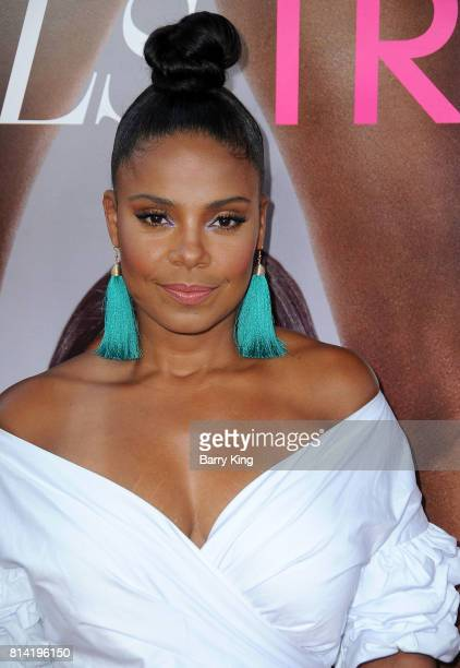 Actress Sanaa Lathan attends the Premiere of Universal Pictures' 'Girls Trip' at Regal LA Live Stadium 14 on July 13 2017 in Los Angeles California