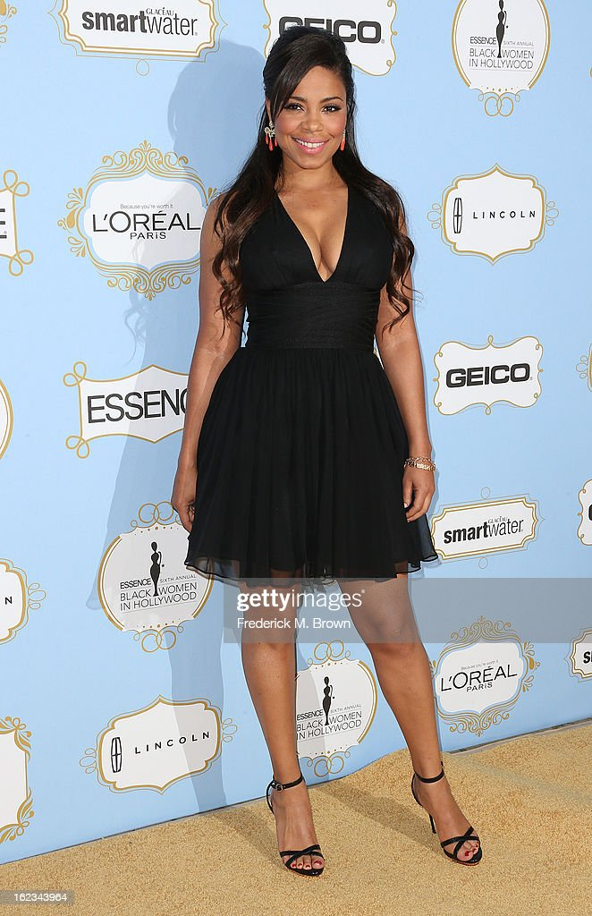 Actress Sanaa Lathan attends the Sixth Annual ESSENCE Black Women In Hollywood Awards Luncheon at the Beverly Hills Hotel on February 21, 2013 in Beverly Hills, California.