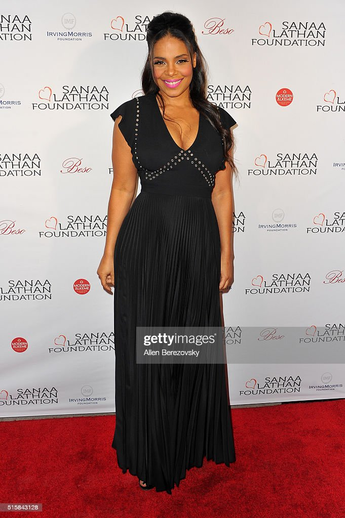 Sanaa Lathan Hosts Event At Beso
