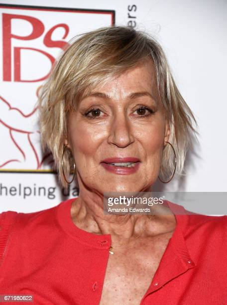 Actress Sandahl Bergman arrives at the 30th Annual Gypsy Awards Luncheon at The Beverly Hilton Hotel on April 23 2017 in Beverly Hills California