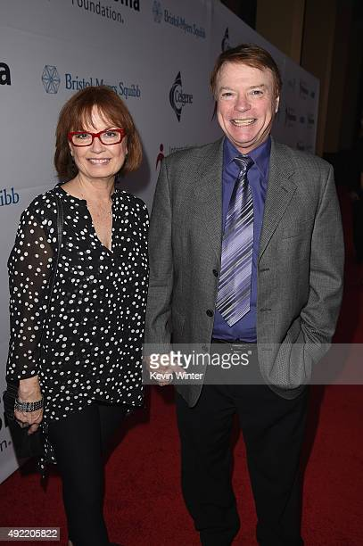 Actress Sandra AsburyJohnson and ventriloquist Jay Johnson attend the 9th Annual Comedy Celebration presented by the International Myeloma Foundation...