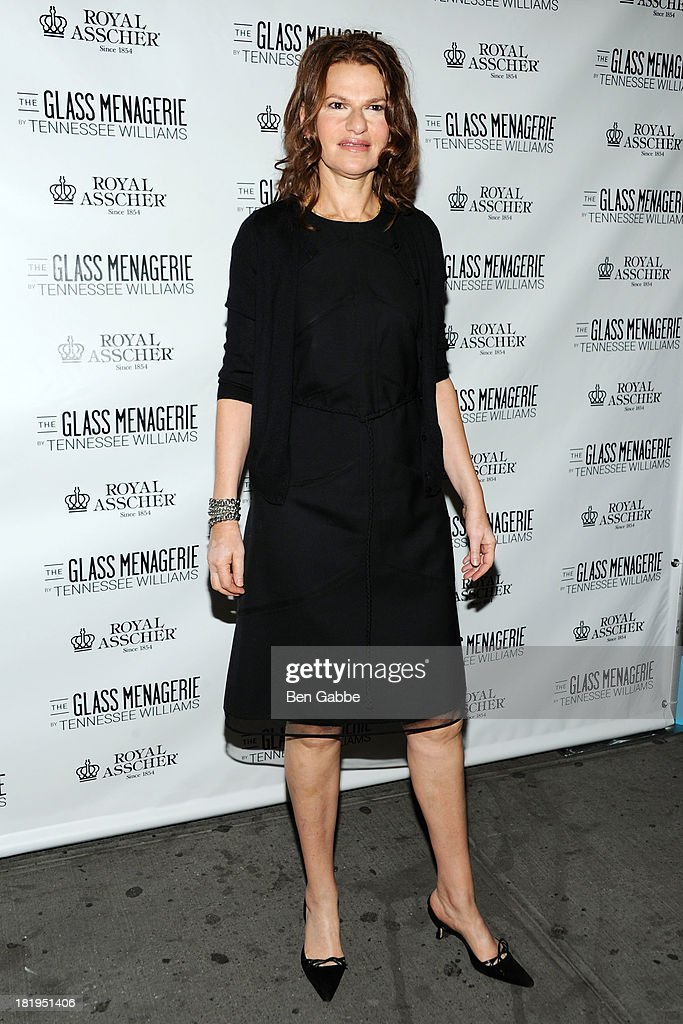 """""""The Glass Menagerie"""" Broadway Opening Night - Arrivals And Curtain Call"""