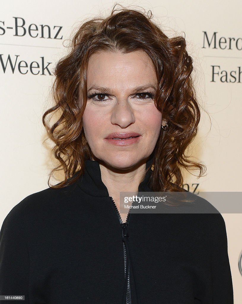 Actress <a gi-track='captionPersonalityLinkClicked' href=/galleries/search?phrase=Sandra+Bernhard&family=editorial&specificpeople=204693 ng-click='$event.stopPropagation()'>Sandra Bernhard</a> attends the Mercedes-Benz Start Lounge at Lincoln Center on February 10, 2013 in New York City.