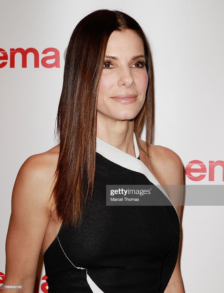 Actress <a gi-track='captionPersonalityLinkClicked' href=/galleries/search?phrase=Sandra+Bullock&family=editorial&specificpeople=202248 ng-click='$event.stopPropagation()'>Sandra Bullock</a> arrives at the 20th Century Fox Cinemacon Press Conference at Caesars Palace during CinemaCon 2013 on April 18, 2013 in Las Vegas, Nevada.