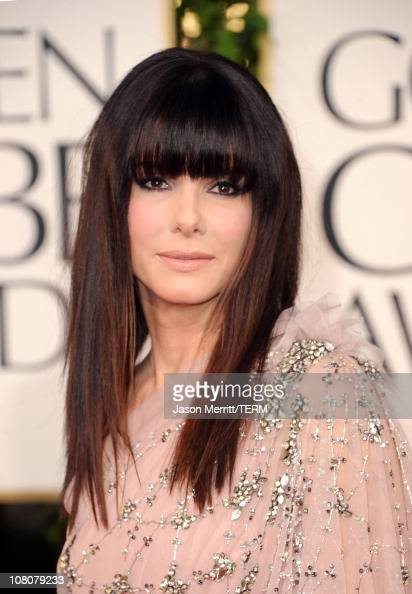 Actress Sandra Bullock arrives at the 68th Annual Golden Globe Awards held at The Beverly Hilton hotel on January 16 2011 in Beverly Hills California