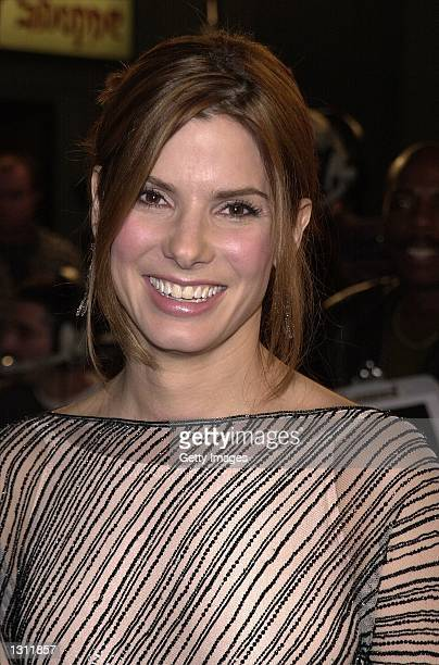 Actress Sandra Bullock arrives at the premiere of the film 'Miss Congeniality' December 14 2000 in Hollywood CA