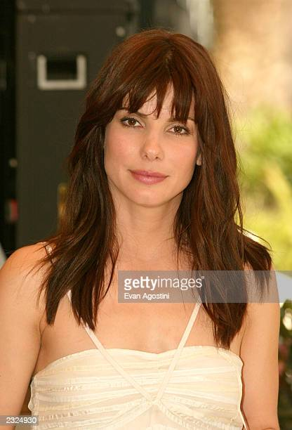 Actress Sandra Bullock at the 'Two Weeks Notice' Photo Call at the Carlton Hotel during the 55th Cannes Film Festival in Cannes France May 25 2002...