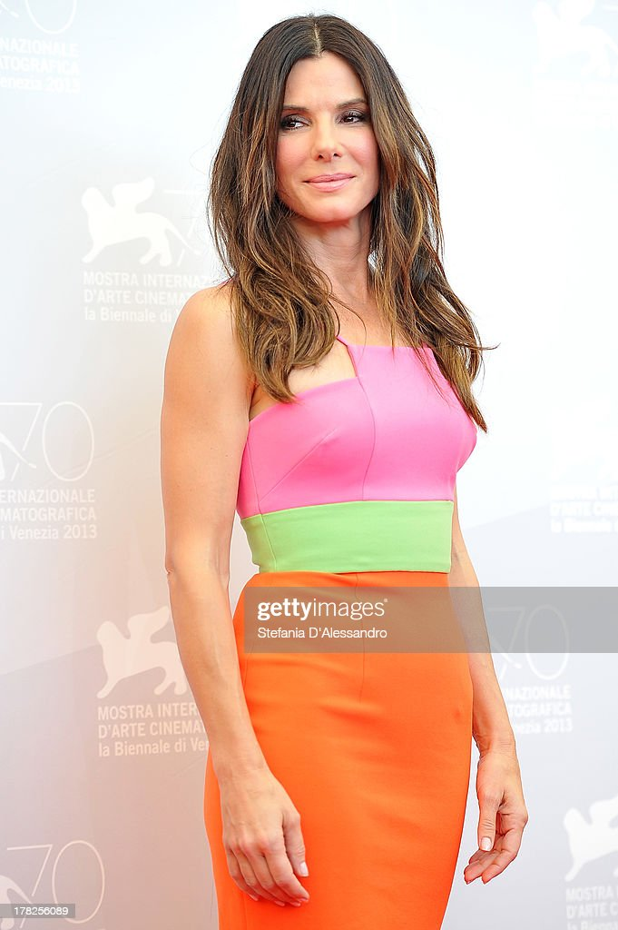 Actress Sandra Bullock attends 'Gravity' Photocall during the 70th Venice International Film Festival on August 28, 2013 in Venice, Italy.