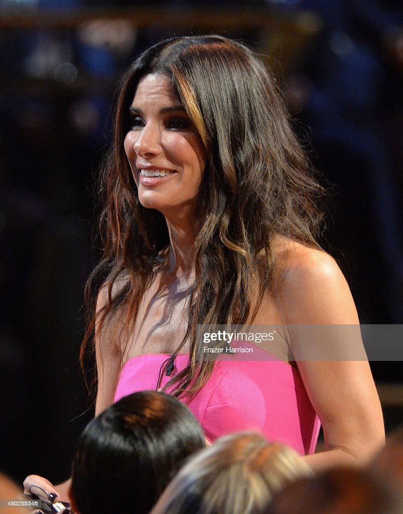 Actress Sandra Bullock attends Spike TV's 'Guys Choice 2014' at Sony Pictures Studios on June 7, 2014 in Culver City, California.