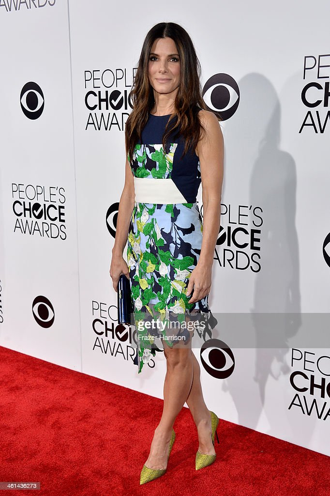 Actress Sandra Bullock attends The 40th Annual People's Choice Awards at Nokia Theatre L.A. Live on January 8, 2014 in Los Angeles, California.