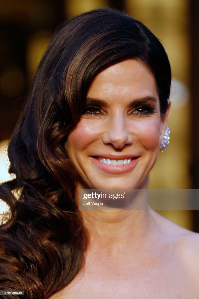 Actress Sandra Bullock attends the 86th Oscars held at Hollywood Highland Center on March 2 2014 in Hollywood California