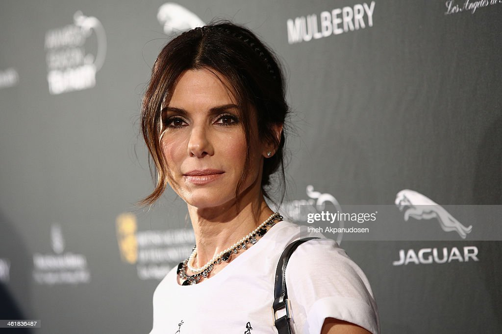 Actress Sandra Bullock attends the BAFTA LA 2014 Awards Season Tea Party at the Four Seasons Hotel Los Angeles at Beverly Hills on January 11, 2014 in Beverly Hills, California.