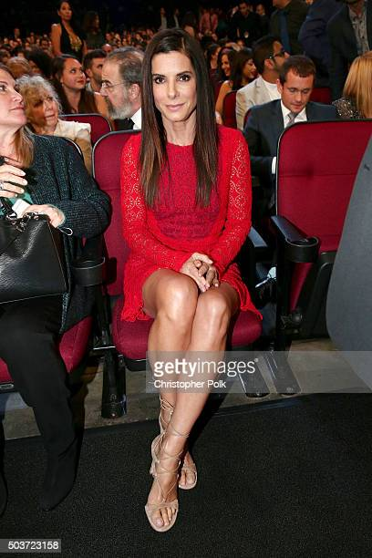 Actress Sandra Bullock attends the People's Choice Awards 2016 at Microsoft Theater on January 6 2016 in Los Angeles California
