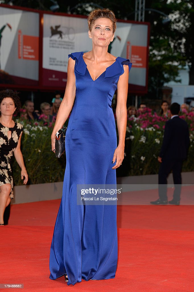 Actress Sandra Ceccarelli attend the 'L'Intrepido' Premiere during the 70th Venice International Film Festival at the Palazzo del Cinema on September 4, 2013 in Venice, Italy.