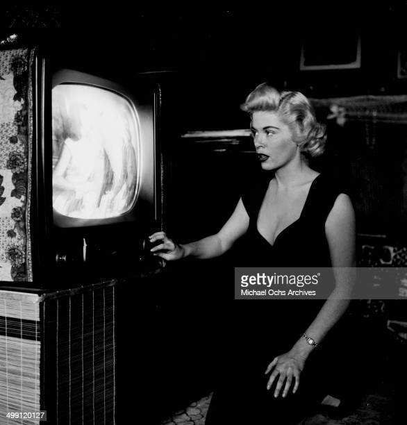 Actress Sandra Giles poses in Los Angeles California