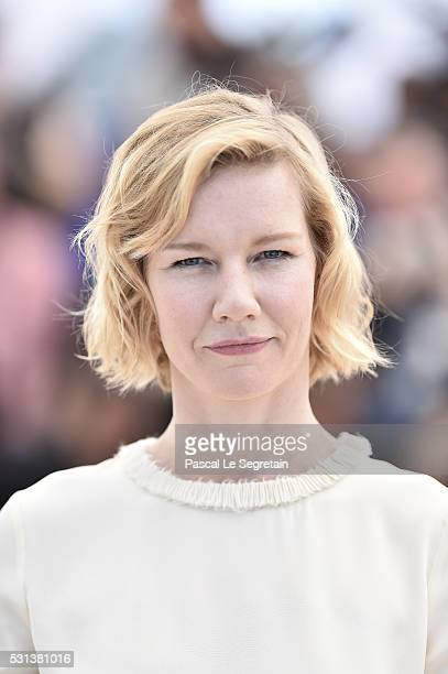 Actress Sandra Huller attends the 'Toni Erdmann' photocall during the annual 69th Cannes Film Festival on May 14 2016 in Cannes France