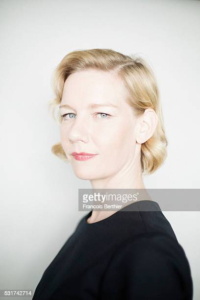 Actress Sandra Huller is photographed for Self Assignment on May 15 2016 in Cannes France