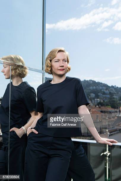 Actress Sandra Huller is photographed for Stern Magazine on May 15 2016 in Cannes France
