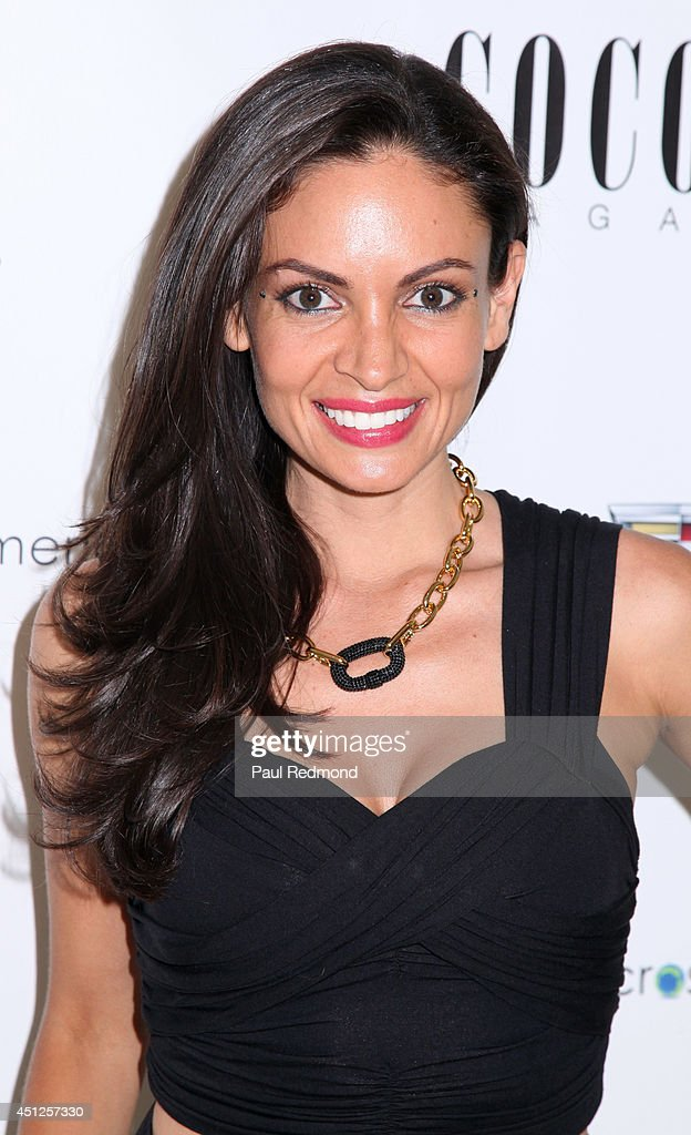 Actress Sandra Luesse attending COCO ECO Magazine Launches Debut Print Issue EARTH ROCKS! An Evening Of Eco-Chic Fashion & Beauty at Roy Robinson at Fred Segal on June 25, 2014 in Los Angeles, California.