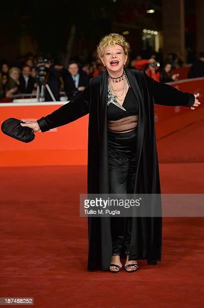 Actress Sandra Milo attends 'Federico Degli Spiriti' Premiere during The 8th Rome Film Festival at Auditorium Parco Della Musica on November 9 2013...