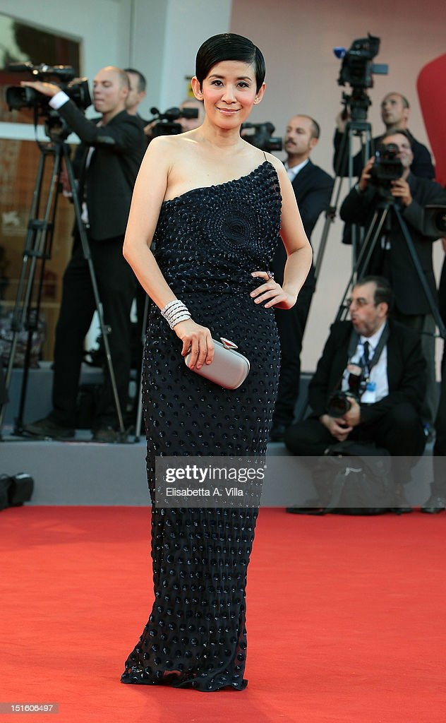 Actress Sandra Ng attends the Award Ceremony during the 69th Venice Film Festival at the Palazzo del Cinema on September 8, 2012 in Venice, Italy.