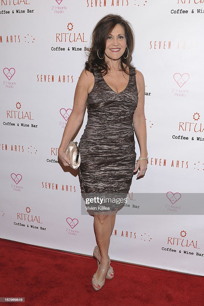 Actress Sandra Staggs attends Seven Arts Presents The Grand Opening Of Ritual Cafe And Wine Bar on March 2, 2013 in Los Angeles, California.