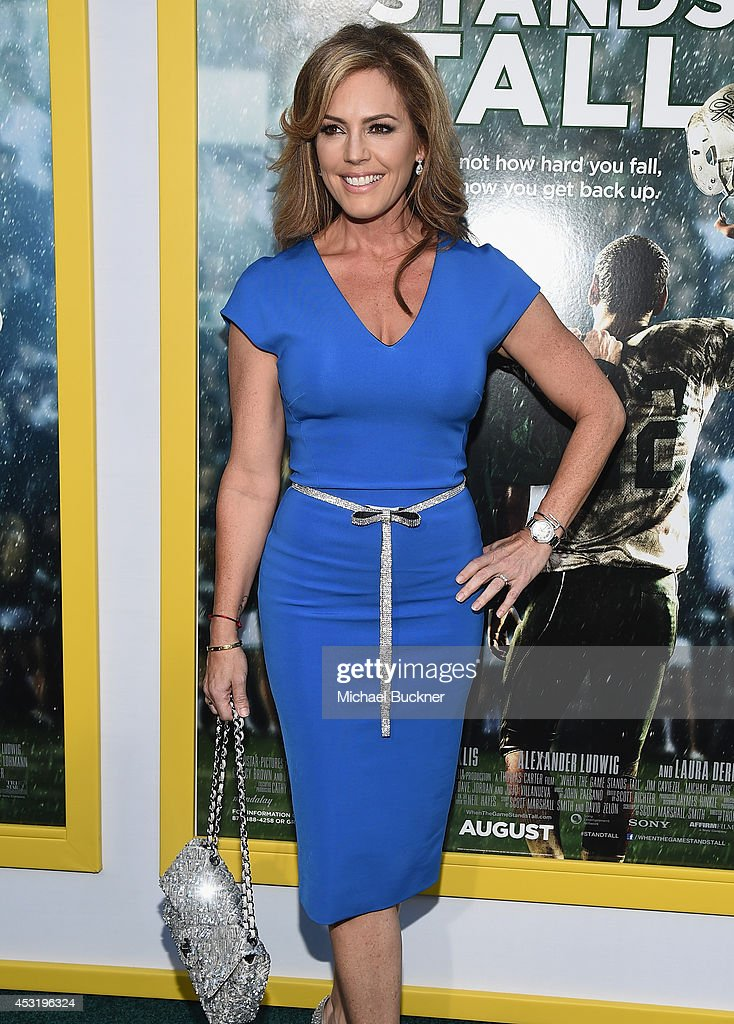 Actress Sandra Taylor arrives at the premire of Tri Star Pictures' ' When The Game Stands Tall' at the ArcLight Cinemas on August 4, 2014 in Hollywood, California.