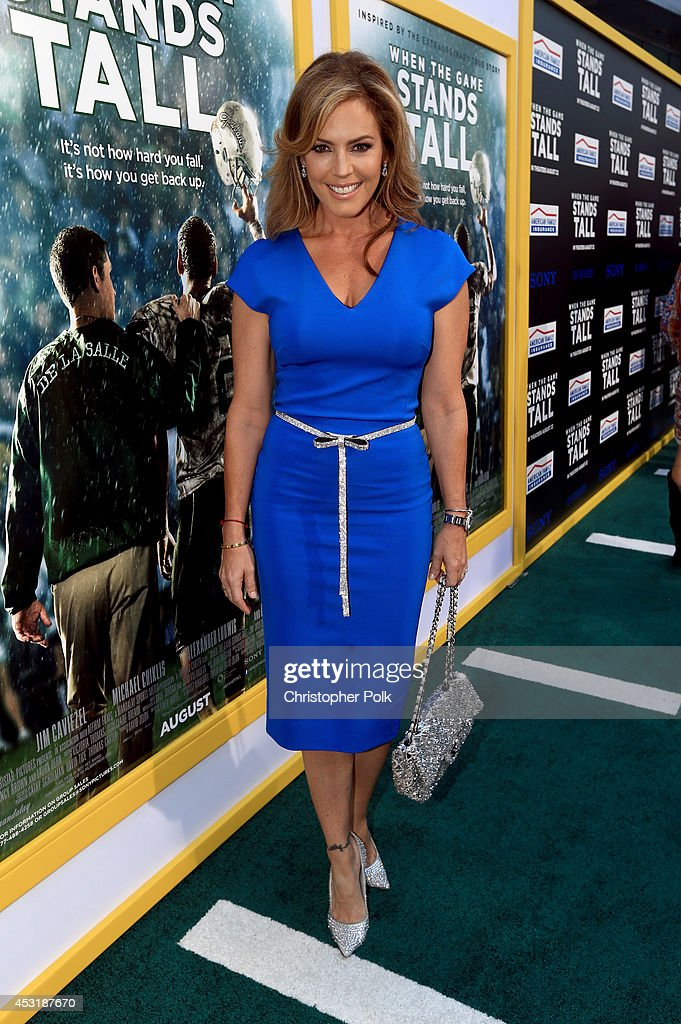Actress Sandra Taylor attends the premiere of Tri Star Pictures' 'When The Game Stands Tall' at ArcLight Cinemas on August 4, 2014 in Hollywood, California.