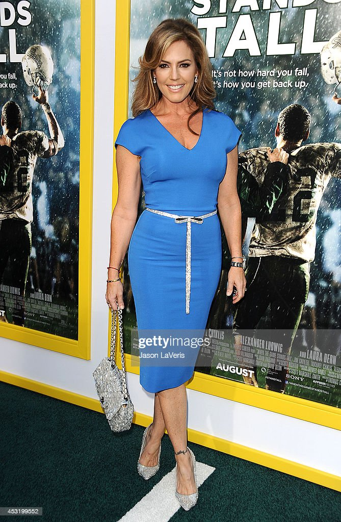 Actress Sandra Taylor attends the premiere of 'When The Game Stands Tall' at ArcLight Hollywood on August 4, 2014 in Hollywood, California.