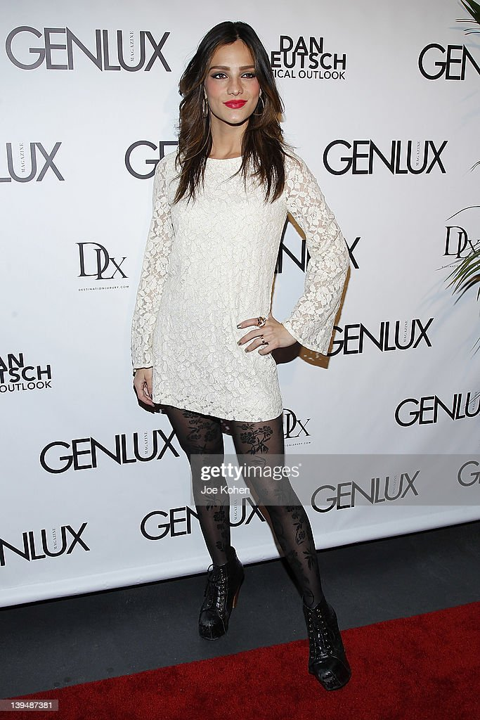 Actress Sandra Vergara attends the Night Of 'BB Forever: Brigitte Bardot, The Legend' at Sofitel Hotel on February 21, 2012 in Los Angeles, California.