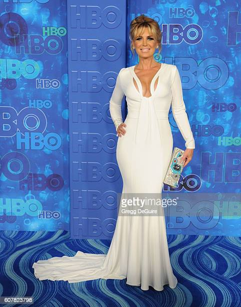 Actress Sandra Vidal arrives at HBO's Post Emmy Awards Reception at The Plaza at the Pacific Design Center on September 18 2016 in Los Angeles...