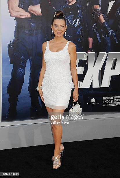 Actress Sandra Vidal arrives at the 'Sin City A Dame To Kill For' Los Angeles Premiere at TCL Chinese Theatre on August 19 2014 in Hollywood...