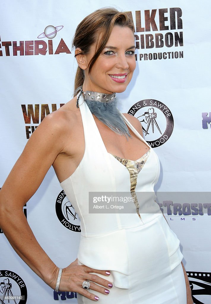 Actress <a gi-track='captionPersonalityLinkClicked' href=/galleries/search?phrase=Sandra+Vidal&family=editorial&specificpeople=236019 ng-click='$event.stopPropagation()'>Sandra Vidal</a> arrives for the 2014 Etheria Film Night held at American Cinematheque's Egyptian Theatre on July 12, 2014 in Hollywood, California.