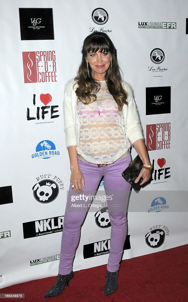 Actress Sandra Vidal arrives for the No Kill LA Charity Event held at Fred Segal on April 2, 2013 in West Hollywood, California.